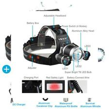 Brightest LED Headlamp Flashlight 6000 Lumen, BOSICAN CREE Rechargeable...