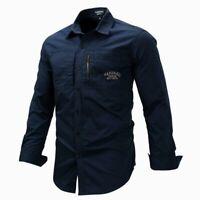 Luxury Dress Shirts New Slim Fit Fashion Stylish Mens Long Sleeve Casual