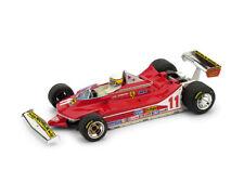 1 43 Brumm Ferrari 312 T4 GP Italy World Champion Scheckter 1979