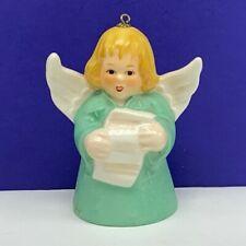 Goebel birthday angel ornament Christmas bell figurine hummel 1981 caroler noel