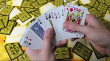 Magic card Trick The Invisible Deck Blue Bicycle Cards. THE BEST QUALITY