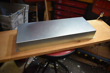 """Blank Guitar amp chassis steel construction 17"""" x 6.5"""" x 2"""""""