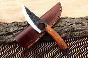 """8"""" MH KNIVES CUSTOM HANDMADE CARBON STEEL FULL TANG HUNTING/SKINNER KNIFE CS-04H"""