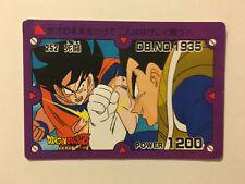 Dragon Ball Z PP Card 252