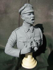 German Panzer Officer 1/9th scale resin bust