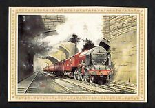 Posted 1985 Illustrated View of LMSR Royal Scot Class 460 No6119 Steam Train