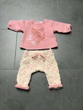 Baby Kombi Bambi Hose und Longsleeve Shirt Pulli 50 56 62 68 Rosa Disney