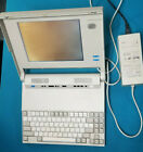 IBM PS2 L40 SX 386 Portable Computer 2MB retro gaming Laptop and Charger parts