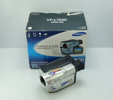 Videocámara Samsung VP-L750D HI8 8 mm en Caja video analógica Video 8 Cinta