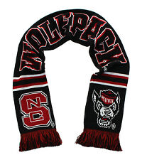 NC State Wolfpack Scarf - Special Edition Black Knitted - NCSU