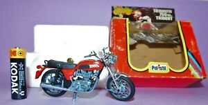 * 1978 * MADE IN ITALY * BOXED * POLISTIL * GT 658 * TRIUMPH 750CC TRIDENT *
