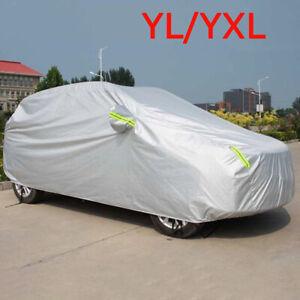 Full Car Cover Waterproof Sun UV Snow Dust Rain Resistant SUV Protection YL YXL