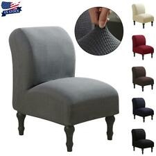 Stretch Armless Chair Accent Chair Cover Protector Slipp