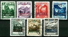 """LIECHTENSTEIN - Servizio - 1932 - Francobolli del 1930 """"REGIERUNGS DIENSTSACHE"""""""