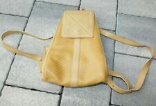 vintage SAC à DOS LANCEL en CUIR leather bag BACKPACK tasche LEDER de voyage