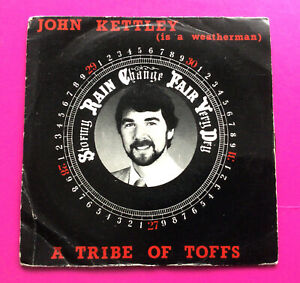 """E96 John Kettley (Is A Weatherman) A Tribe Of Toffs 7""""Single Excellent Condition"""