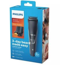 PHILIPS Beard Trimmer 20 LENGTHS Adjustable Clipper Shaver Rechargeable Cordless