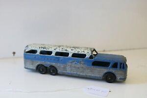 VERY NICE TOOTSIE TOY 1957 GMC GREYHOUND SCENICRUISER BUS [ din15 ]traingirl13