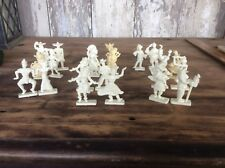 Vintage 1950s Plastic Figures From Around The World , Van Brode Co. Cereal Prize