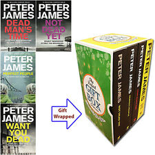 Peter James Collection Roy Grace 4 Books Set Gift Wrapped Slipcase New Pack