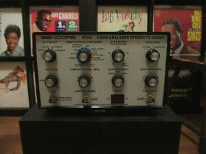 Vintage SENCORE ST65 Video Analyzer Stereo TV Adder **LΩΩK!**