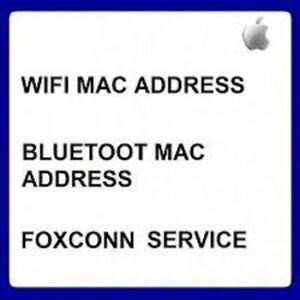 APPLE BLUETOOTH & WIFI MAC ADDRESS CHECK BY SERIAL IPHONE, IPAD, IWATCH, IPOD