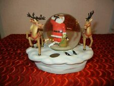 Vintage Coca-Cola Coke Christmas Waterglobe / Snow Globe 1998 ( New Original Box