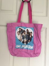 One Direction Pink Tote Bag 1D