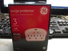 GE 3-Outlet Surge Protector 660 Joules Model No. 37765