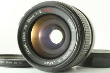 【Excellent+++】 Canon FD SSC S.S.C 28mm F2 MF Wide Angle Prime Lens from Japan
