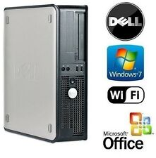 DELL AMD GAMER 64X2 DUAL CORE WINDOWS 7 HDMI DESKTOP PC 8GB RAM 1TB HDD WiFi