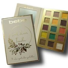 Bebe Golden Touch Eyeshadow Palette 15 Colors, Animal & Cruelty Free!