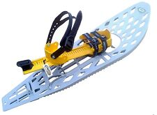 """MORPHO TRIMALP Composite Light Snowshoe Snow Shoes 30""""x10"""" Large Made in France"""