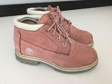 Timberland Womens Pink Shoes Walking Boots Waterproof Size Uk 6.5 Eu 39.5