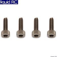 Associated 81276 M3x10mm Titanium SHCS Socket Head Cap Screws (4)