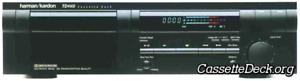 Harman Kardon TD4400 Stereo Cassette Deck