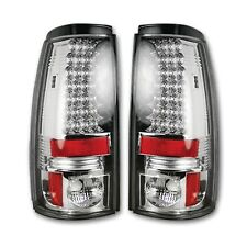 RECON 264173CL Chevrolet Silverado GMC Sierra 99-07 Clear-Red Tail Lights LED