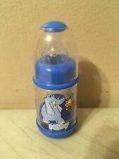 New listing Vintage Nuby Infant Feeder Bottle Baby Cereal Baby Food 2oz Stage Blue Elephant