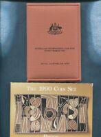 1990 Australia Proof Coin Set Folder inc Box & Certificate Coin Fair Issue Q-329