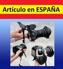 Correa soporte TRIPLE Camara UNIVERSAL mano Canon Kodak Nikon pentak sony piel