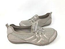 NEW! Skechers Women's BREATHE EASY ENVY ME Slip On Shoes Taupe #23826 172i kk