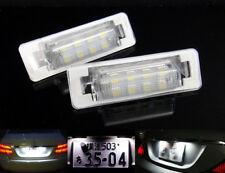 2x SAMSUNG LED License Plate Light No Error for Mercedes W202 W210 E-Class AMG
