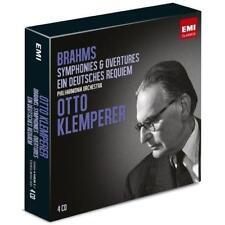Otto Klemperer - Brahms Symphonies Ein Deutsches Requie (NEW 4CD)