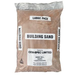 Red Building Sand | 20kg Bag | Poly Bag | Next Day Delivery