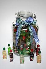 Party - Geschenk - Glas mit 81 x 0,02 l Original Berentzen Mini - PET Flaschen