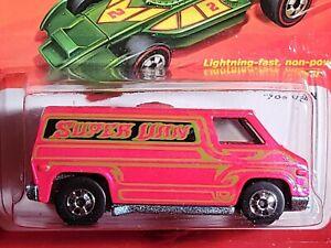 Hot Wheels ~ '70s Van ~ 2011 Hot Ones Series, Pearl Pink