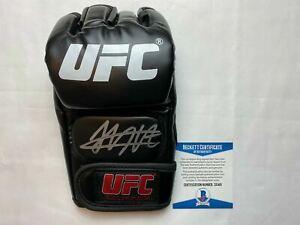 KHABIB NURMAGOMEDOV SIGNED UFC GLOVE THE EAGLE BECKETT BAS COA Z10461