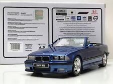 1:18 BMW M3 E36 Coupé Cabriolet año 1995 color Azul Estoril Otto Mobile OT279