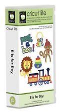 B IS FOR BOY Cartridge for Cricut Machine ~ Train Car Truck Toys Phrases Animals