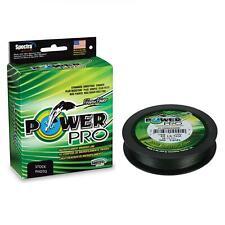 Trecciato Shimano Power Pro 275 m Moss Green Pesca Spinning Vari Diametri RN